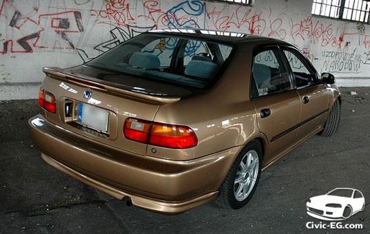 A on 1992 Honda Civic Cx