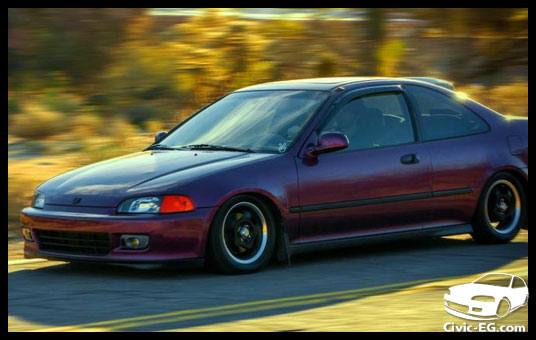 A on honda civic eg jdm