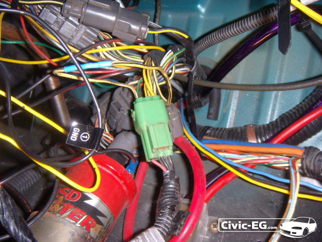 civic eg view topic diy resistor box install w o cutting wires rh civic eg com LED Flasher Wiring-Diagram Electrical Resistor