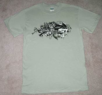 Civic-EG Urban T-shirt