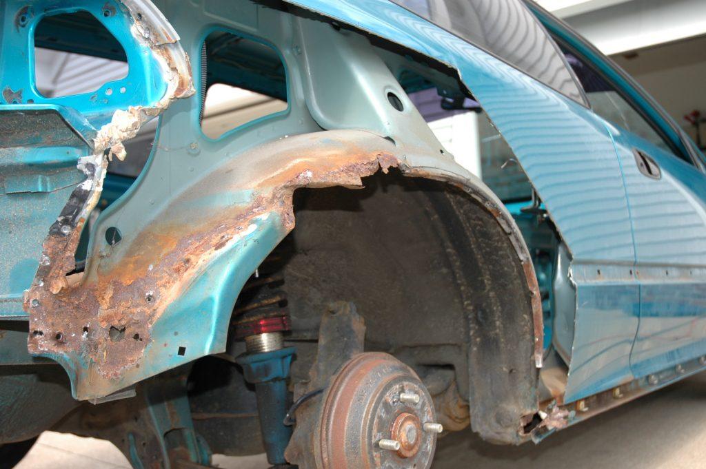 Wheel Arch Quarter Panel rear fender 92-95 Honda Civic 4 door LEFT rust repair