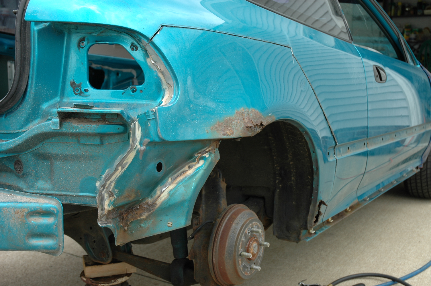 DIY: How to fix your honda civic\'s rust – Civic EG